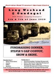 Long Weekend @ Gundagai 6 & 7th June 2020